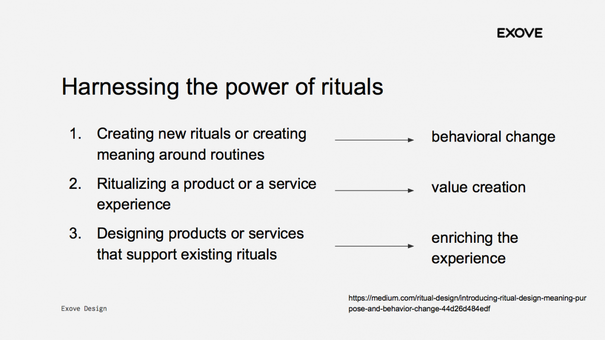 Power of rituals
